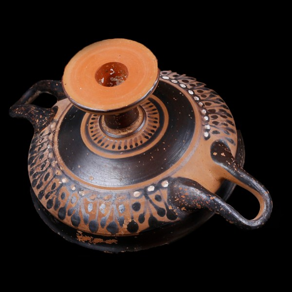 Attic Kylix with Beautiful Decoration