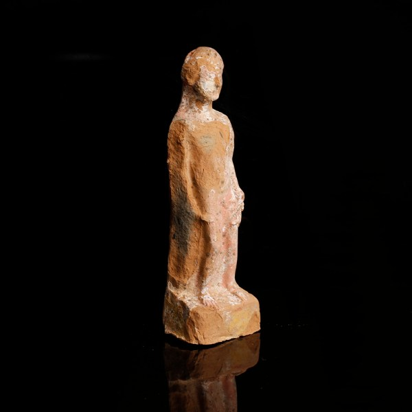 Terracotta Statuette of a Youth