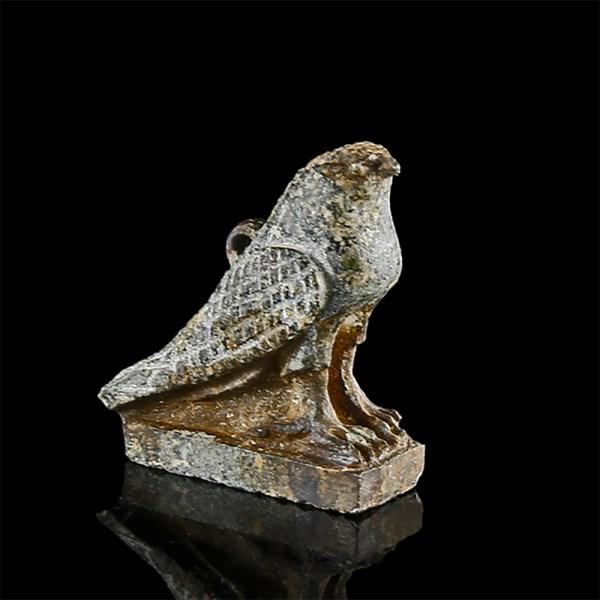 Egyptian Serpentine Horus Falcon