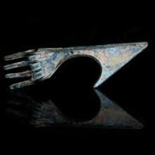 Luristan Bronze Spike Butted Axe Head