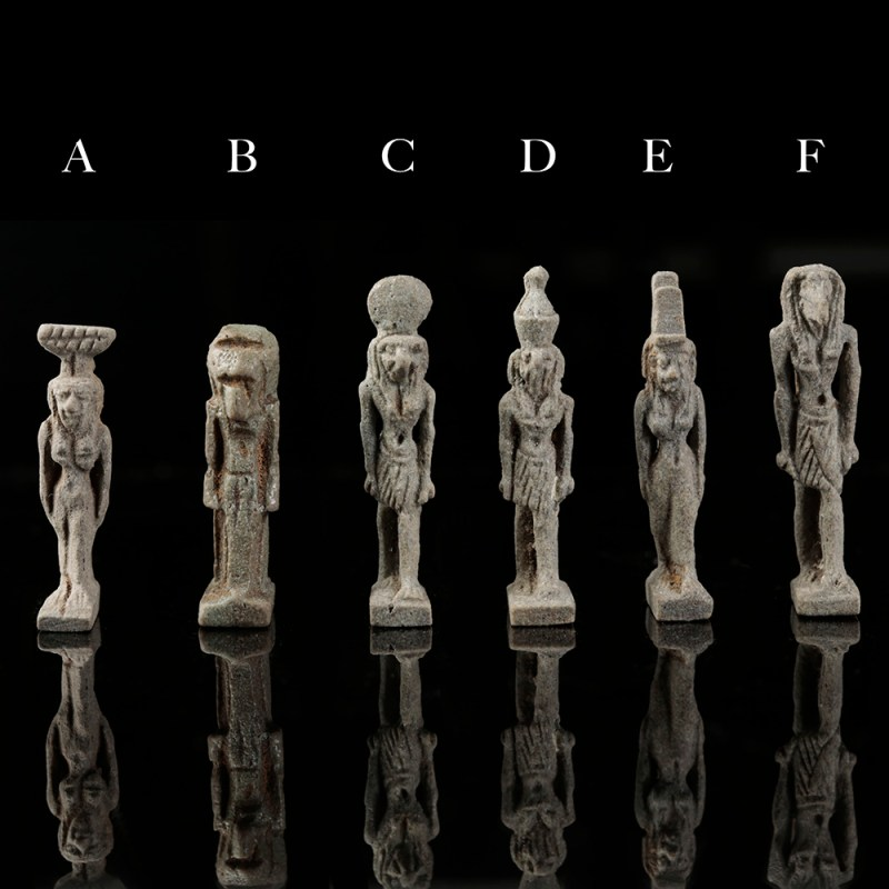 selection-of-egyptian-gods-amulets