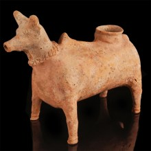 Western Asiatic Amlash Bull Vessel