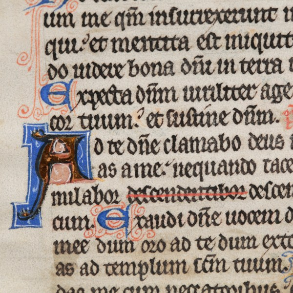 Medieval Book of Hours Page