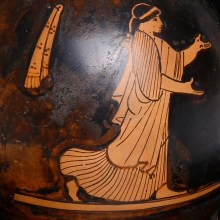 Greek Attic Red Figure Lekythos