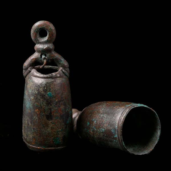 Pair of Roman Bronze Bells