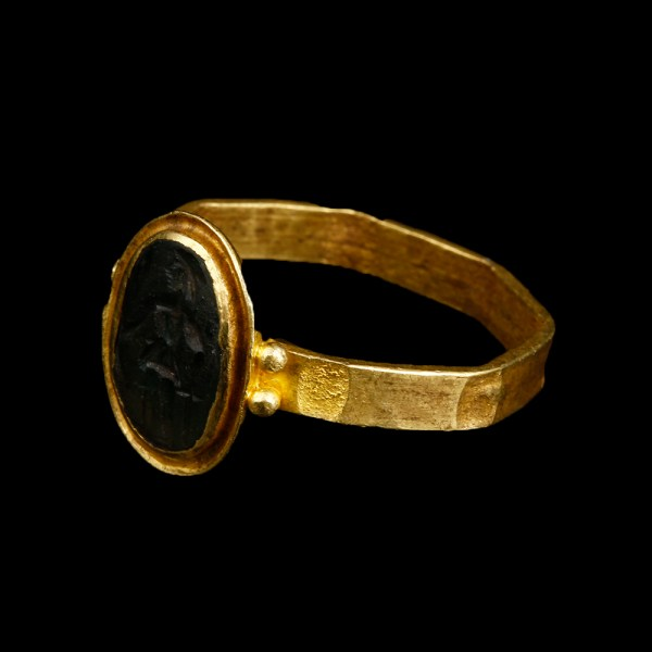 Roman Ring with Intaglio of Mars