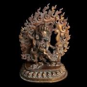 Tibetan Bronze Statuette of Vajrapani