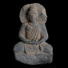 Gandharan Statuette of Buddha Shakyamuni