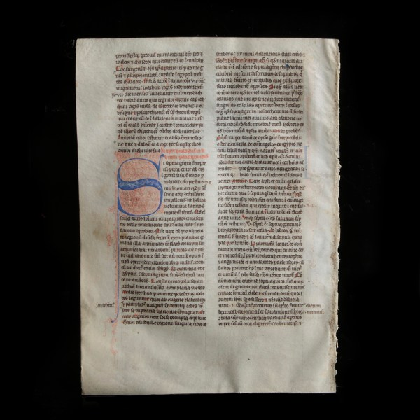 Medieval Manuscript from Britain