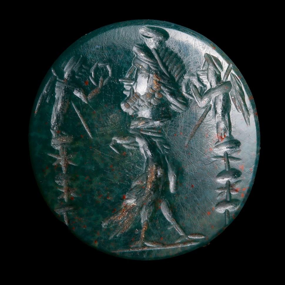 Roman Green Jasper Intaglio
