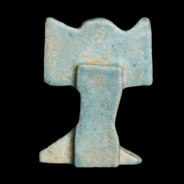 Faience Amulet of Shu