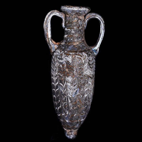 Hellenistic Glass Core-Formed Amphoriskos