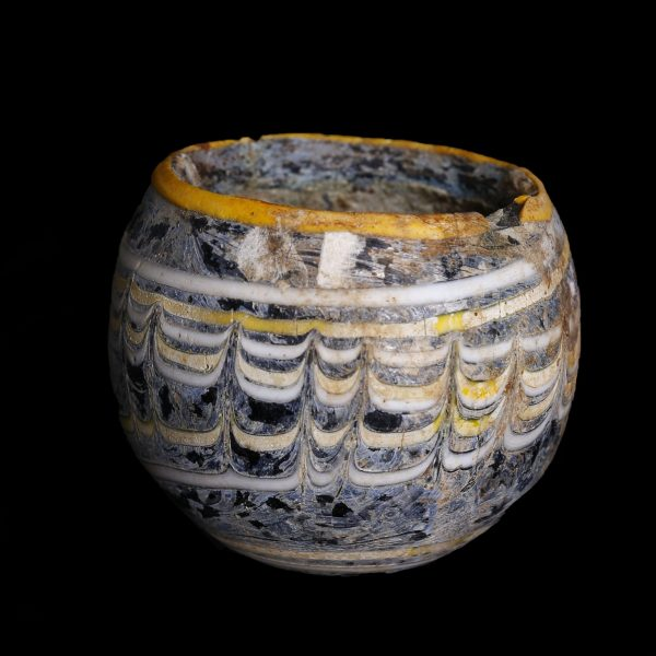 Hellenistic Sand Core Glass Cup