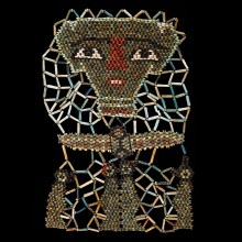 Elaborate Beaded Mummy Mask