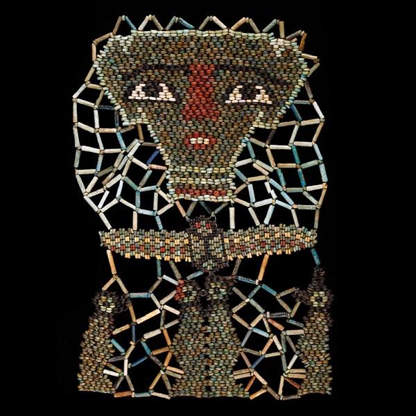 Elaborate Beaded Mummy Mask