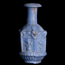 Exquisite Sidonian Pale Blue Flask