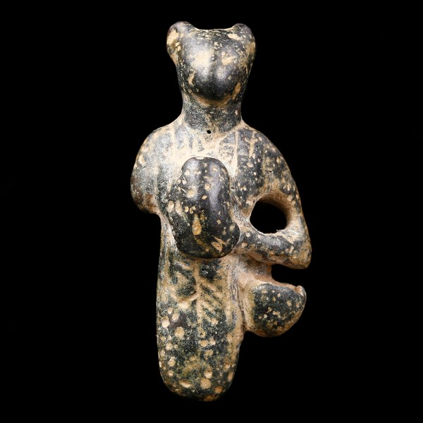 "Bronze Figurine of ""Housewife"" Bastet"