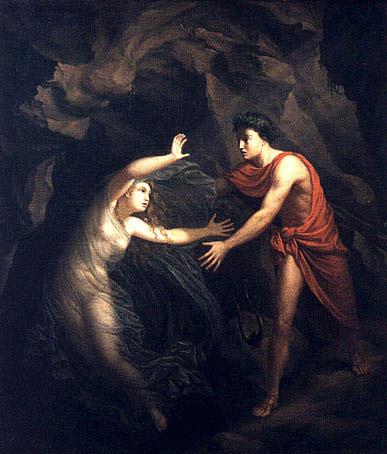 Christian Gottlieb Kratzenstein, Orpheus and Eurydice, 1806, Ny Carlsberg Glyptotek, Copenhagen. Image Credit: Wikipedia