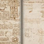 Ancient manuscript where Da Vinci details flight, mechanics, optics, and Water on the moon available for DOWNLOAD