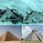 A set of mysterious Pyramids have been spotted on the ocean floor
