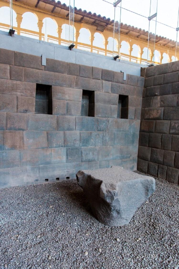 Coricancha temple stones