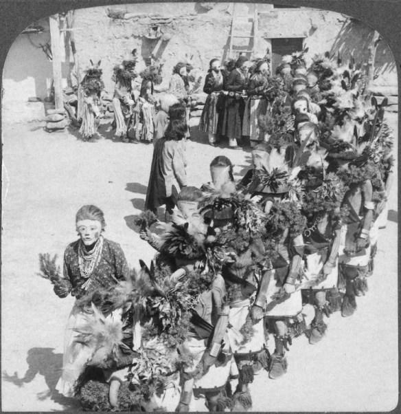 Kachina dancers