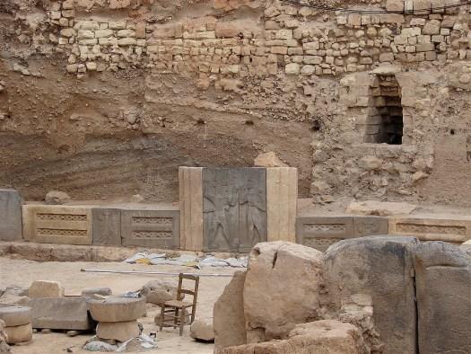 Hadad Temple Inside Aleppo Citadel