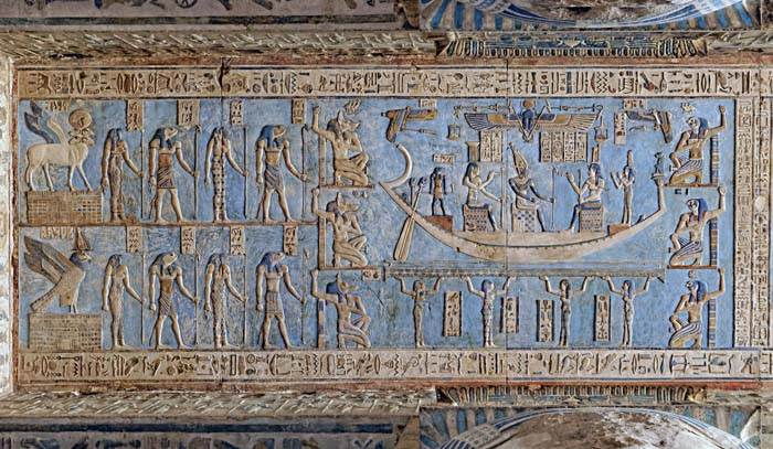 Astronomical Ceiling at Dendera Temple