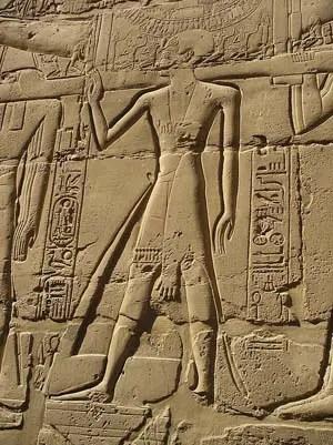 Priest Relief at Karnak