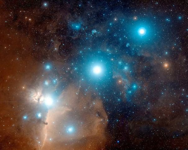 Astrofotografía del Cinturón de Orión. (Dominio público)