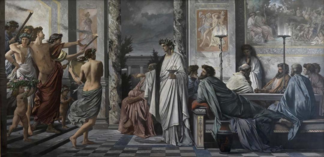 'Banquete de Platón', óleo de Anselm Feuerbach. (Public Domain)