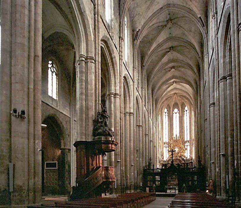 La Basílica de María Magdalena en St. Maximin-la-Sainte-Baume, cuya construcción se inició en 1295. (CC BY SA 3.0)