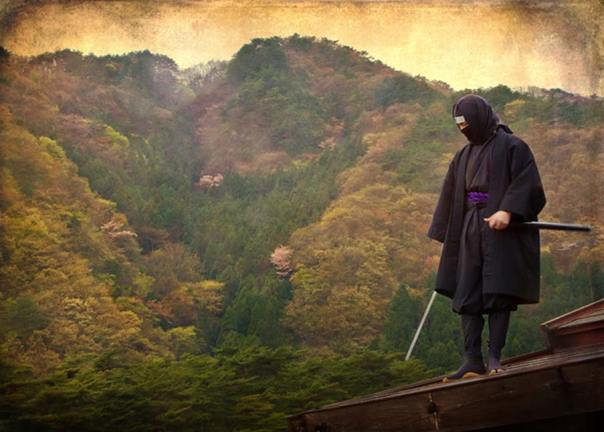 Centinela ninja sobre un tejado (Agustin Rafael Reyes / flickr)