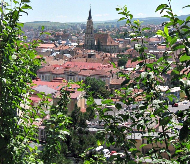 Centro histórico de Cluj Napoca, antigua capital de Transilvania y la ciudad rumana más cercana al misterioso Bosque Hoia Baciu. (Trm/CC BY-SA 2.0)