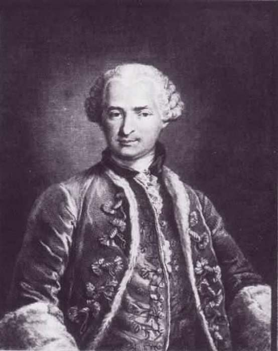 Conde de Saint Germain. (Dominio público)