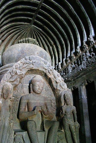"""Cueva número 10, la cueva budista """"del Carpintero"""". (Y. Shishido/CC BY SA 3.0)"""