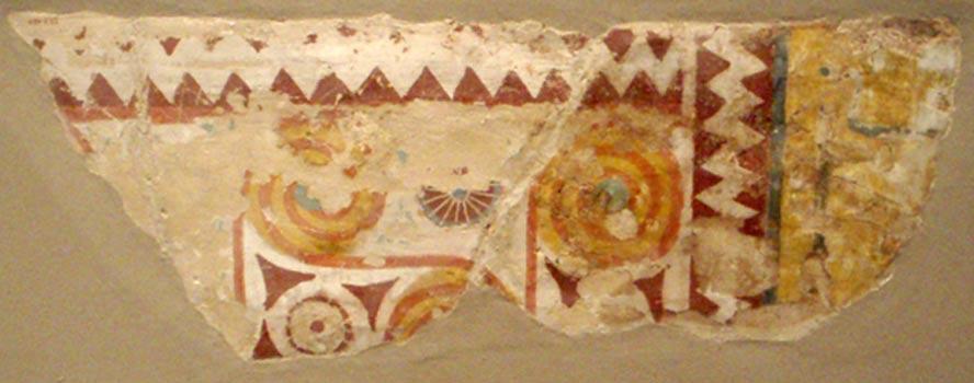 Pinturas con las que se decoró el techo de la tumba de Senenmut (SAE 71). (CC BY-SA 3.0)