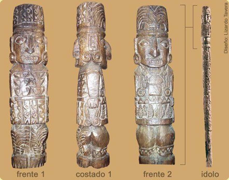 Estatua de Pachacámac. (LimaEasy)