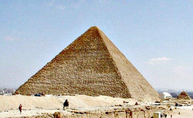 La Gran Pirámide de Guiza. (Public Domain)