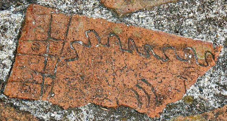 "The famous ""Brick of Comalcalco"".  (Alfonsobouchot / GNU Free)"