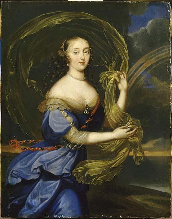 Retrato de Madame de Montespan. (1640-1707) (Public Domain)
