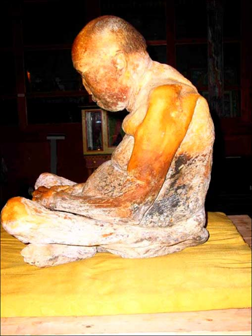 Los restos fueron hallados en un estado similar al de 'alguien que hubiera muerto hace 36 horas', extraordinariamente bien conservados y sin señales de putrefacción. Fotografía: REN.tv, The Siberian Times