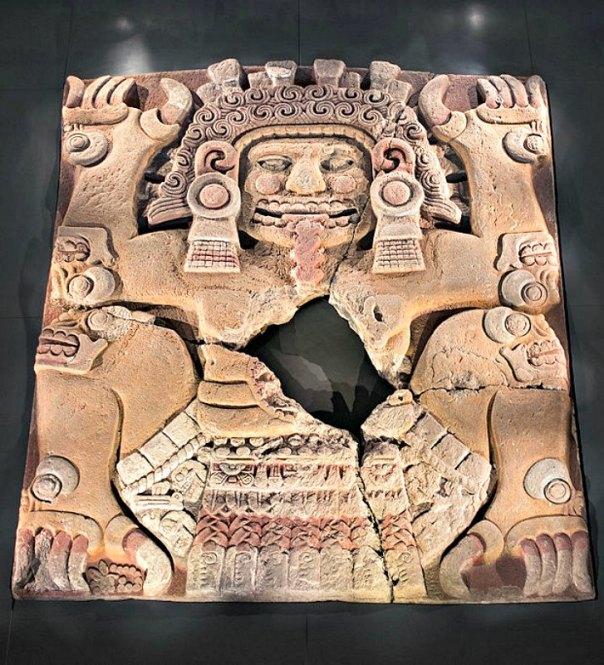El monolito de Tlaltecuhtli se encuentra expuesto en el Museo del Templo Mayor de Ciudad de México. (Chaccard/CC BY-SA 4.0)
