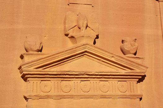 Los Nabateos eran hábiles artesanos que tallaban sus monumentos en la roca (Wikimedia Commons)