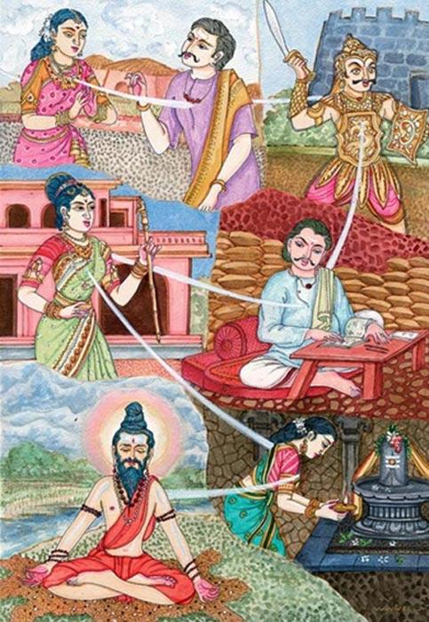 Reencarnación. (Himalayan Academy)