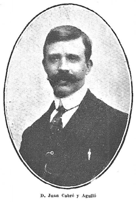 Retrato de don Juan Cabré y Aguiló en 1916. (Public Domain)