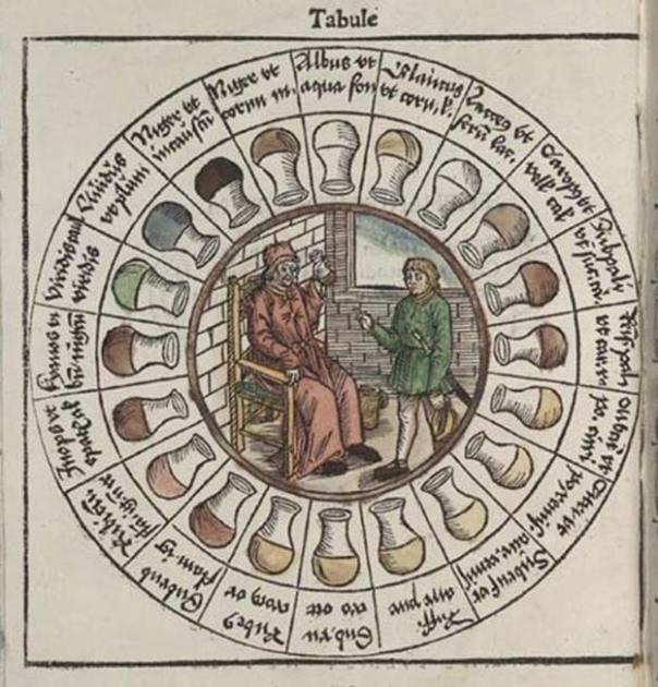 Rueda de orina medieval. (OnlineRover)