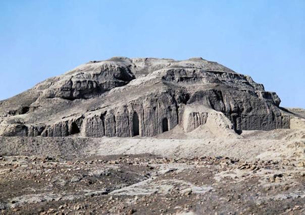 Ruinas del zigurat y el Templo Blanco de Uruk. (CC BY-NC-SA 2.0)