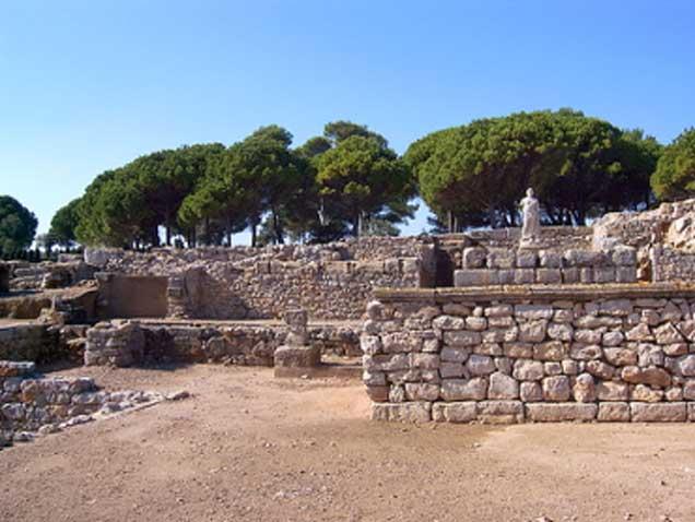 Ruinas griegas de Ampurias. (CC BY SA 4.0)