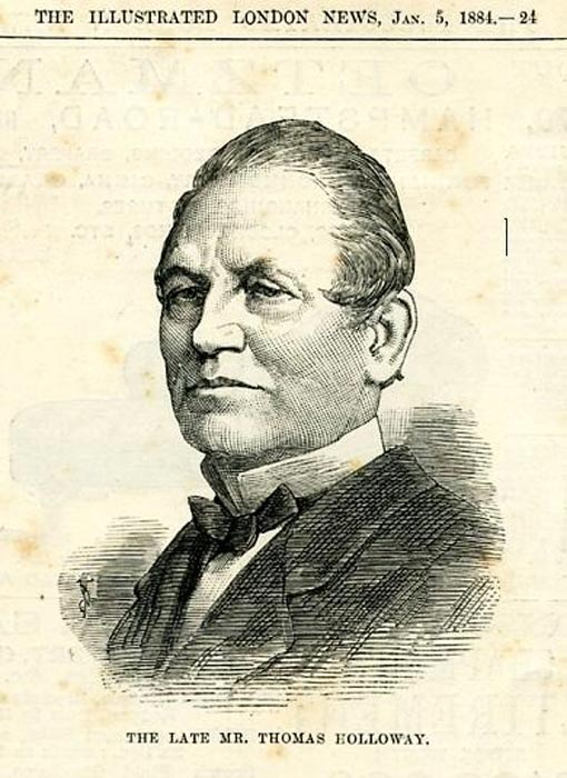 Thomas Holloway, filántropo del siglo XIX. (Public Domain)